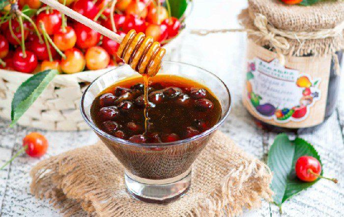 Варенье из черешни с косточками на зиму вкусный рецепт