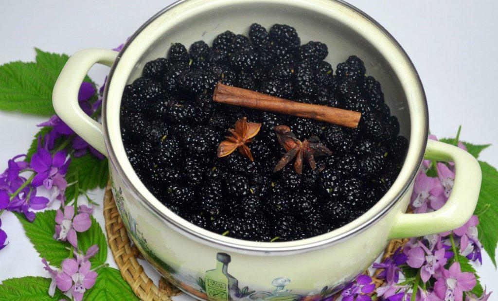 Варенье из шелковицы рецепт с фото пошагово