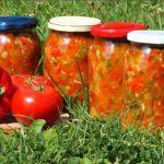 Лечо из болгарского перца на зиму пальчики оближешь с помидорами