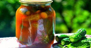 Огурцы с кетчупом чили на зиму в литровых банках рецепт на зиму хрустящие