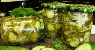 Салаты из переросших огурцов на зиму рецепты