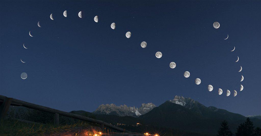 Когда растущая луна в мае 2021 года начинается и заканчивается