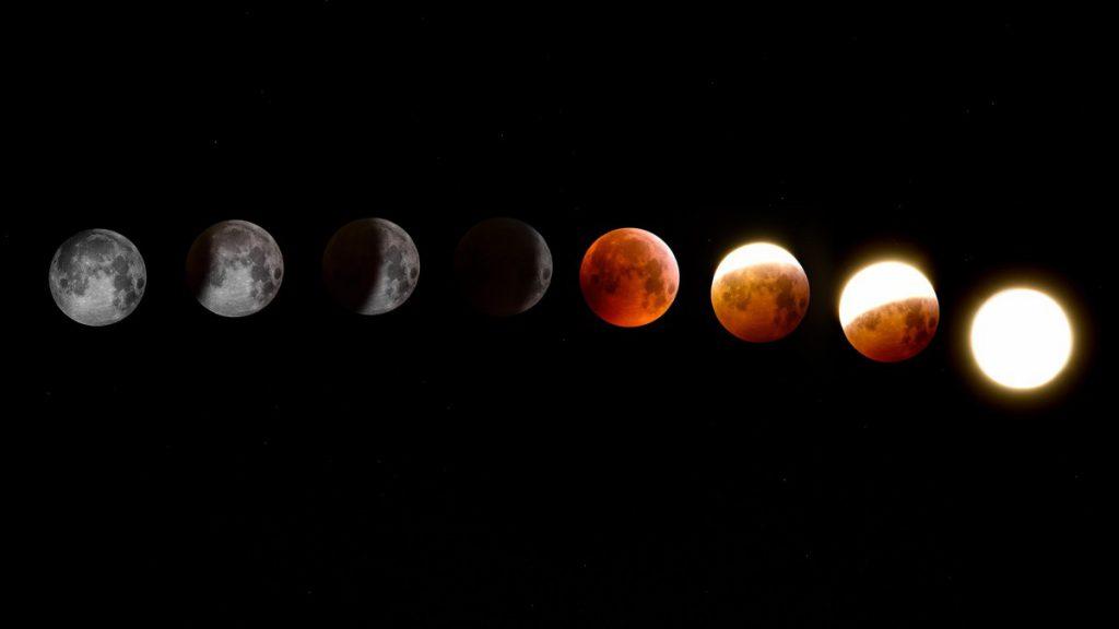 Когда убывающая луна в июне 2021 года начинается и заканчивается