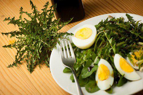 Салат из одуванчиков рецепт приготовления